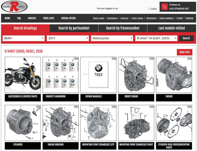 The best Kawasaki genuine parts